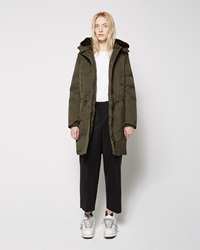 Acne Studios New Powder Parka Dark Green