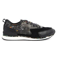 Paul And Joe Paysley Black Patterned Sneakers