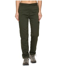 United By Blue Lincoln Lined Pants Olive Women's Casual Pants