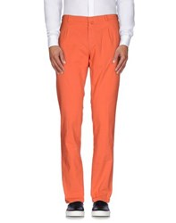 Mason's Trousers Casual Trousers Men Coral