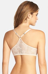 Spanx Lace Racerback Underwire Demi Bra Online Only Nude