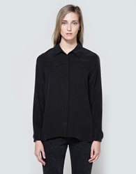 Equipment Denver Western Shirt In True Black