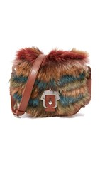 Paula Cademartori Petite Babeth Cross Body Bag Tobacco