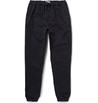 Nn.07 Stretch Cotton Canvas Trousers Blue