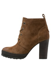Marc O'polo Ankle Boots Brown Cognac