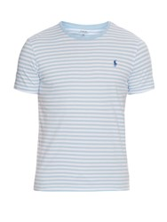 Polo Ralph Lauren Striped Cotton T Shirt Blue Multi