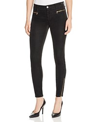 J Brand Iselin Velvet Skinny Pants In Royal Green