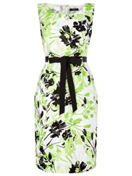 Precis Petite Clipse Floral Dress. Green Multi