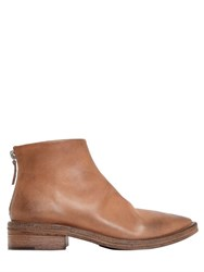 Marsell 40Mm Vintage Effect Leather Boots
