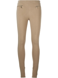 Givenchy High Waist Leggings Nude And Neutrals