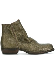 Fiorentini Baker 'Chill' Ankle Boots Green