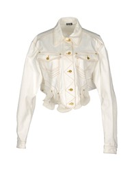 Meadham Kirchhoff Coats And Jackets Jackets Women White