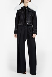 Proenza Schouler Wide Trouser Black
