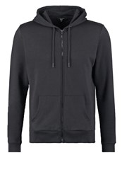 New Look Tracksuit Top Black Anthracite