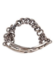 Tobias Wistisen Chunky Chain Necklace Metallic
