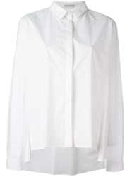Hemisphere Beaded Trim Shirt White
