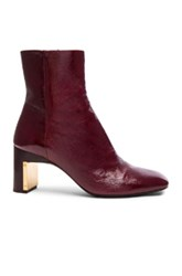 Rosetta Getty Heeled Ankle Bootie In Red