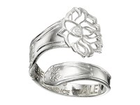 Alex And Ani Spoon Ring Silver Lotus Peace Petals Ring