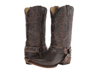 Roper M C Teju Bandit Toe Boot Brown Leather Cowboy Boots