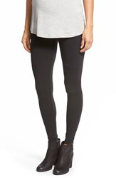 Women's Japanese Weekend Moto Maternity Leggings