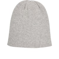 The Elder Statesman Women's Watchman Cashmere Cap Light Grey