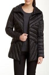 Vince Camuto Mid Down Puffer Jacket Black