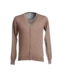 Touch Back Cardigans Camel