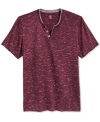 Inc International Concepts Static Shock Henley Only At Macy's Vintage Wine