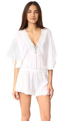 Eberjey So Liberty Romper White