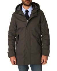 Menlook Label Grey Logan Cotton Parka