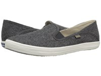 Keds Crashback Wool Charcoal Women's Slip On Shoes Gray