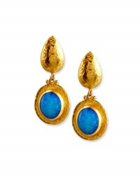 Gurhan Paradiso Opal Cabochon Drop Earrings