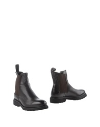 Piampiani Ankle Boots Dark Brown
