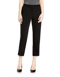 Vince Camuto Cropped Flared Pants Black
