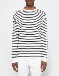 Our Legacy Bolly Sweat Black Stripe