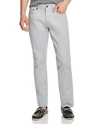 Brooks Brothers Bedford Stretch Cotton Slim Fit Pants Alloy