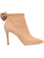 Loeffler Randall 'Maryl' Boots Nude And Neutrals