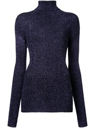G.V.G.V. Glitter Knit Jumper Pink And Purple