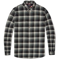 Paul Smith Button Down Check Shirt Black And Grey