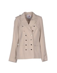 Silvian Heach Suits And Jackets Blazers Women Light Grey