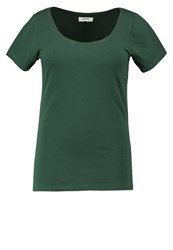 Zalando Essentials Curvy Basic Tshirt Dark Green