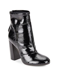 French Connection Capri Side Zipper Ankle Boots Black