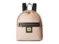 Love Moschino I Love Superquilted Backpack Black White Backpack Bags