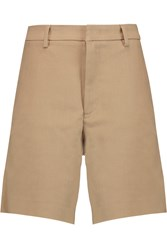 Acne Studios Tail Cotton Blend Twill Shorts Nude