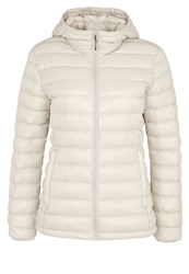 Icepeak Vivica Down Jacket Cement Off White
