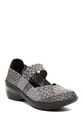 Cobb Hill Mantra Mary Jane Slip On Wedge Metallic
