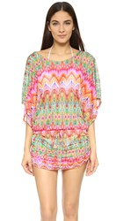 Luli Fama Sunkissed Laughter South Beach Dress Multi