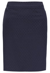 Comma Mini Skirt Blue