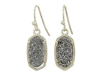 Kendra Scott Lee Earring Gold Platinum Drusy Earring