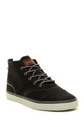 Quiksilver Heyden Canvas Mid Top Sneaker Gray